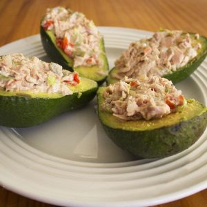 peruvian Stuffed Avocado